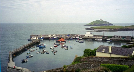 We never tired of the views of the Ballycotton harbor.