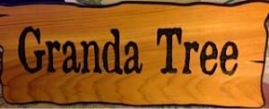 Granda Tree sign